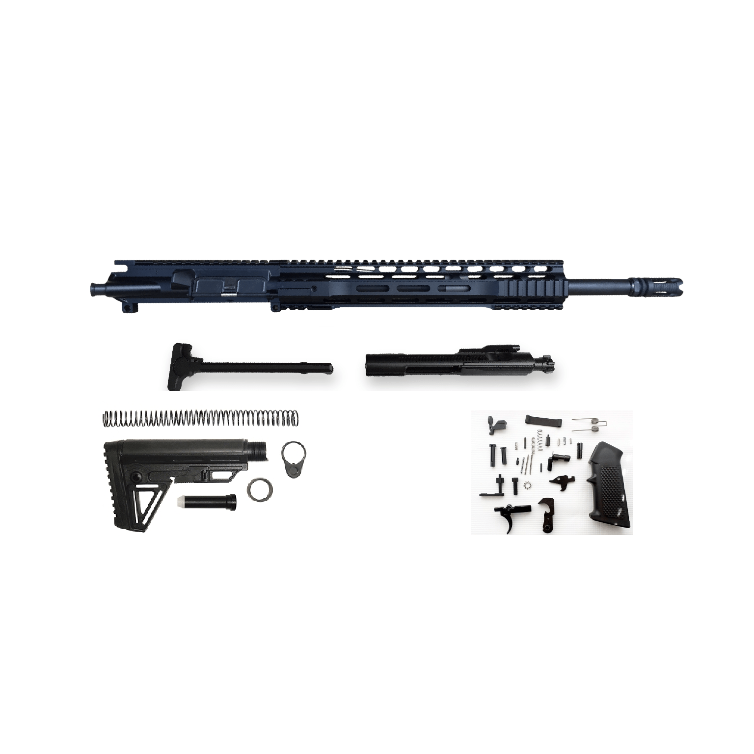 Ar15 Rifle Build Kit With Upgrades 489