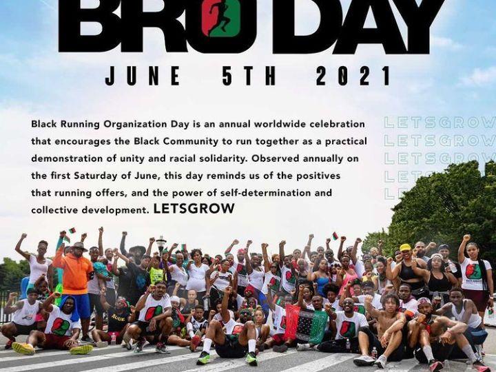 BRO DAY 2021 with Black Running Organization