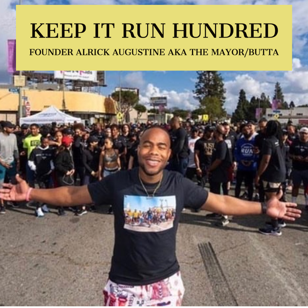 Alrick Augustine & Keep it Run Hundred Run Club