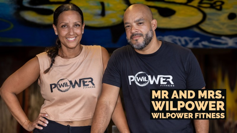 Mr & Mrs WilPower – WilPower Fitness