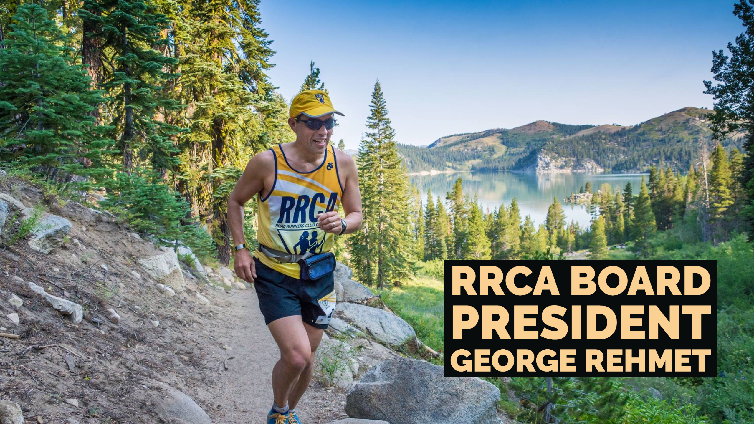 Board President of the Road Runners Club of America George Rehmet