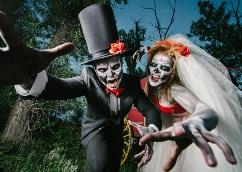 Putting the Boo in I Do (Halloween Weddings)