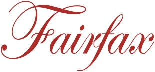 Fairfax logo red on white background pms 7626