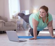 Online workout, home workout