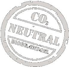 CO2 neutral biobrændsel logo