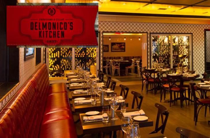 Night Restaurant Nyc Delmonico Kitchen Midtown Girl
