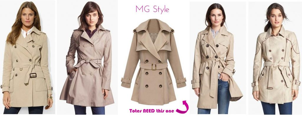 MG Style Guide: 5 Classic Trench Coats For Fall