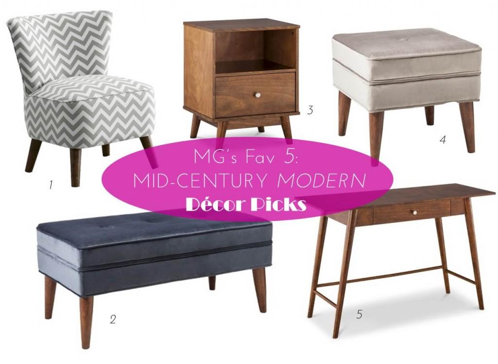 MG Decor: 5 Mid-Century Modern Decor Picks From Target