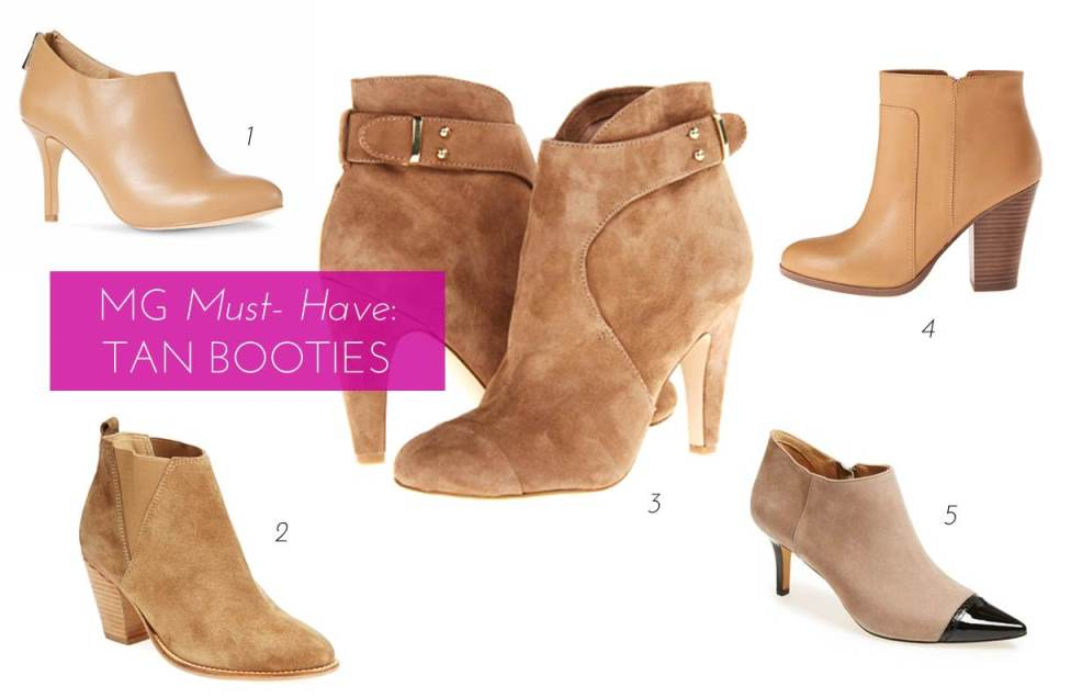 MG Must-Have: 5 Tan Booties Perfect For Fall