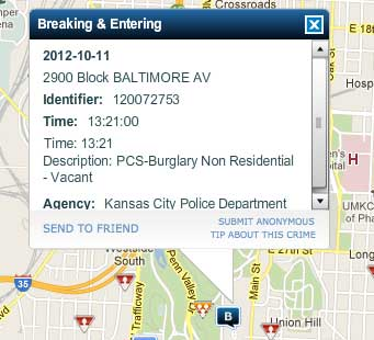 Police activity in your neighborhood? There's an app for