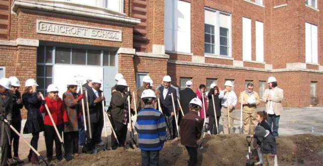 Among other accomplishments, the Green Impact ZOne helped get Bancroft School renovated.