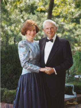Richard and Marion Bloch, courtesy Strauss Peyton.