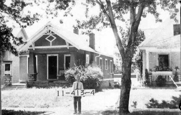 Homes in Plaza Westport, seen here in a 1940 photo, were built for working class families around the turn of the 20th century.