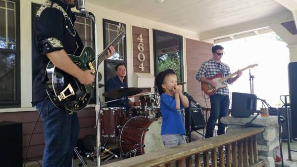 The Brad Cunningham band was a popular act at the West Plaza neighborhood's Porchfest last year, and Cunnigham says he's excited to be invited back this year.