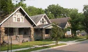 The 4300 block of Tracy today.