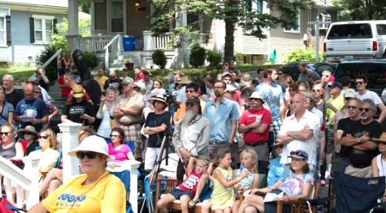 PorchFest 2014 in the West Plaza neighborhood.