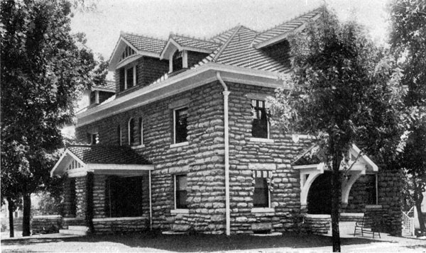When J. Logan Jones, one of the founders of the Jones Store Company, moved into this house on the south side of Armour between McGee and Gillham, it was surrounded by old growth forest. The house later became the home of Bishop Thomas Francis Lillis before it was demolished in 1959.