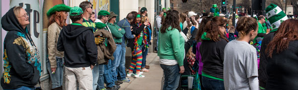 In the first of our stories about preparations for the St. Patrick's Day parade in Midtown, how one local bar prepares for the crowd along Broadway.