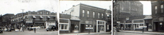 31st Street shops in 1940.