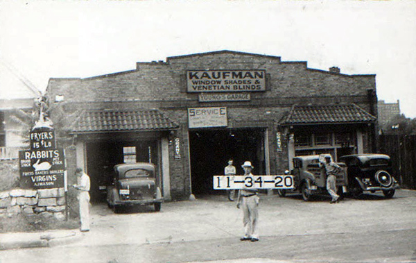 This block of Midtown was a mix of commercial and neighborhood businesses in 1940. AT 15 W. 31st Street, this building housed both an auto repair shop and a Venetian blind store. Next door, Mason's Rabbitry offered rabbits –both Eastern bunnies and breeders–for almost a decade from 1939 to 1946.