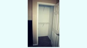 Large closet in a capaus apartment