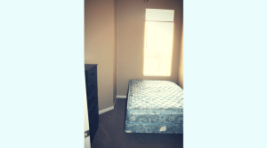 Furnished bedroom in a Midtown apartment in Champaign