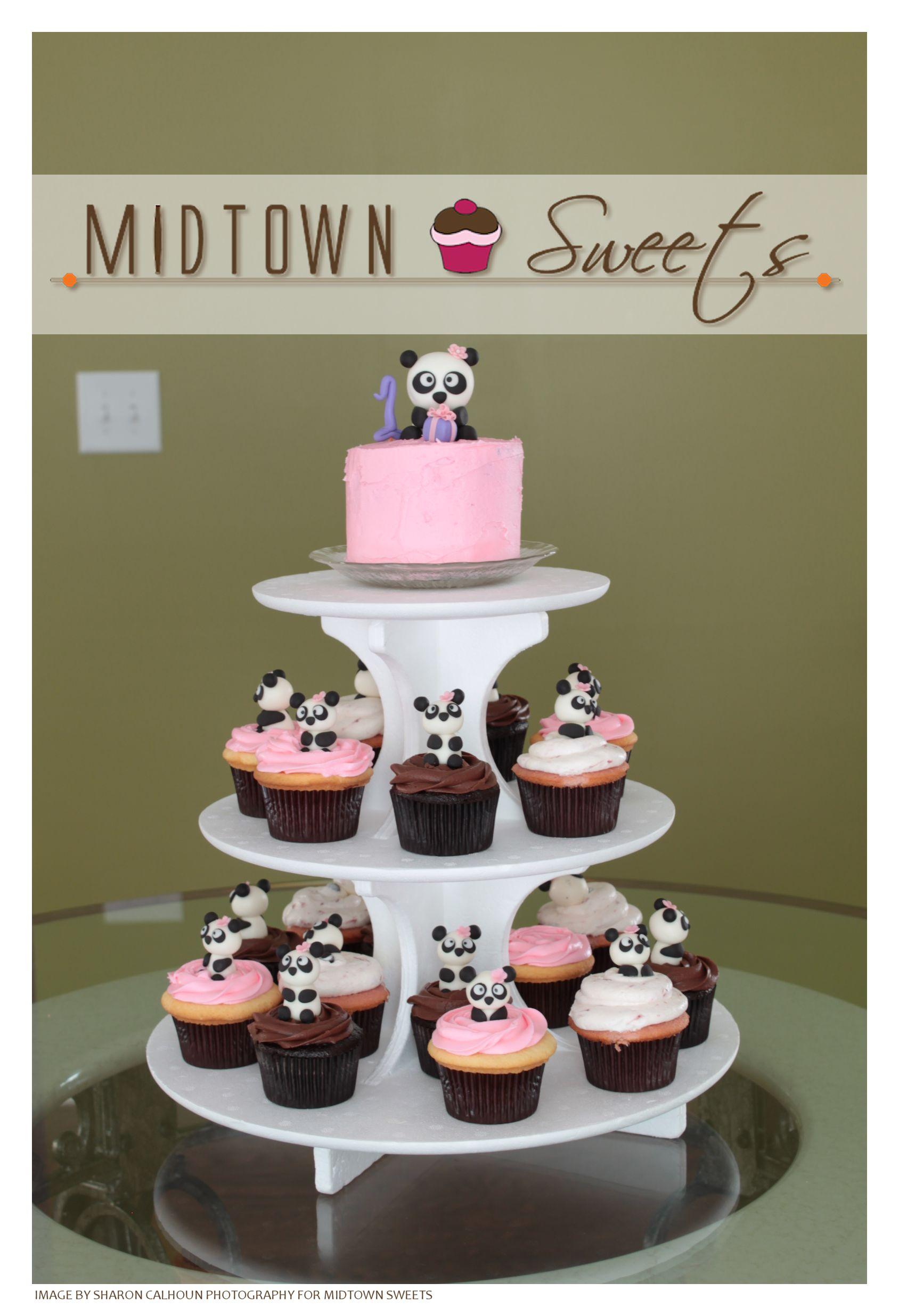 Midtown Sweets Panda Cupcakes Amp Smash Cake