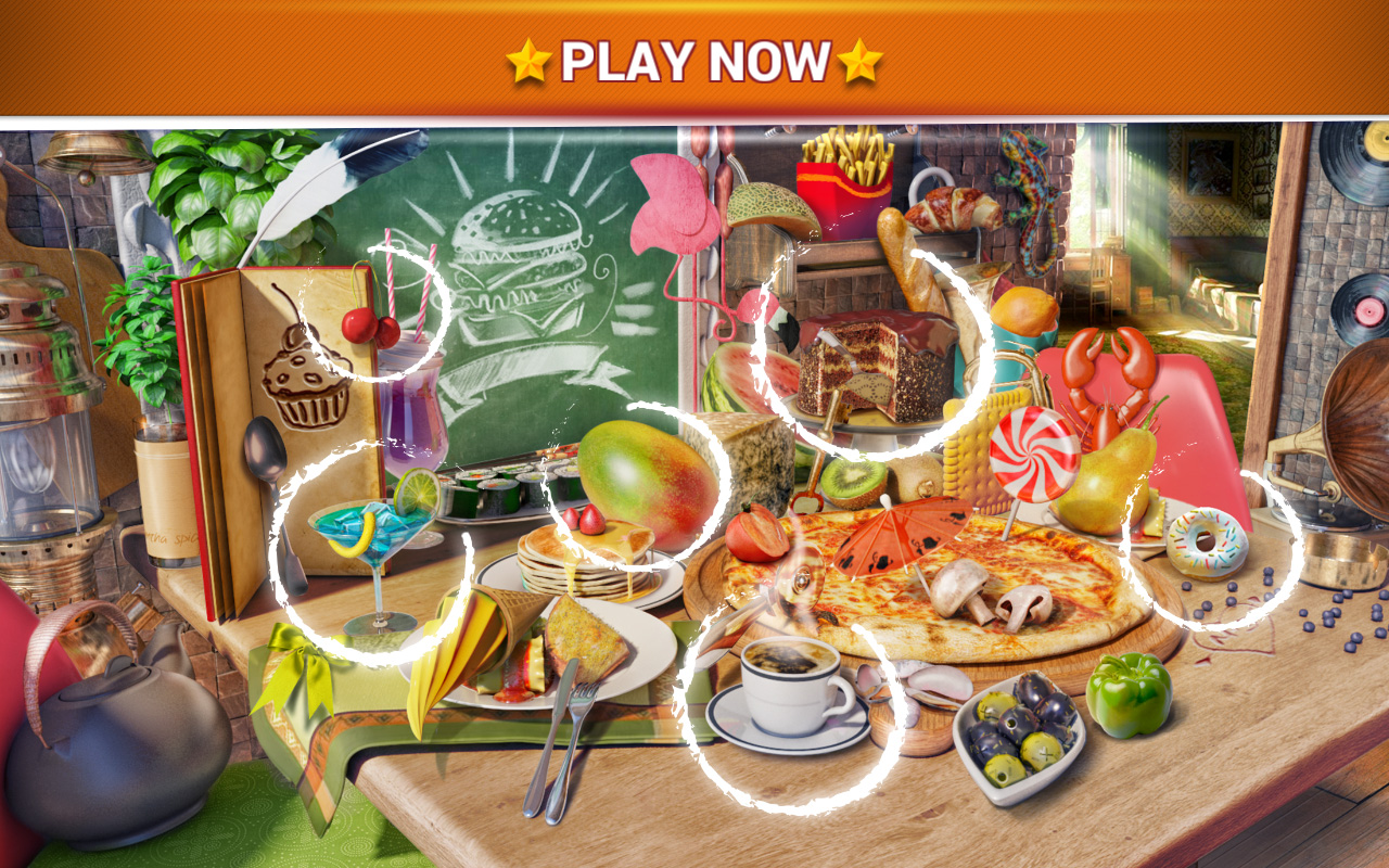 Play New Restaurant Games