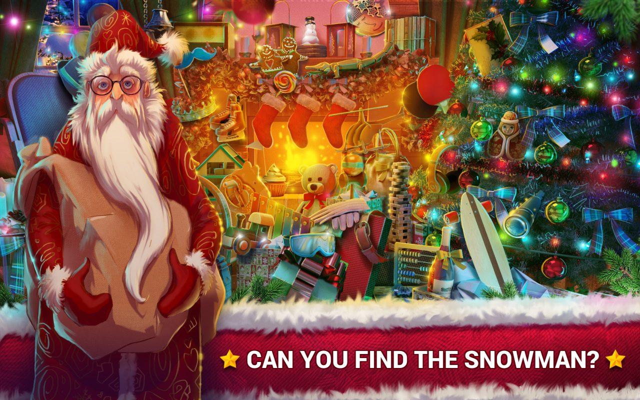 Hidden Objects Christmas Ts