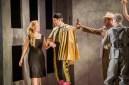 Carmen - Bizet - Mid Wales Opera - The Hafren Centre, Newton - 4th SeptemberDirector - Jonathan MillerTranslation - Rory BremnerConductor - Nicholas CleoburyOrchestration - Stephen McNeffDesigner - Nicky ShawLighting - Declan RandallCarmen - Hele