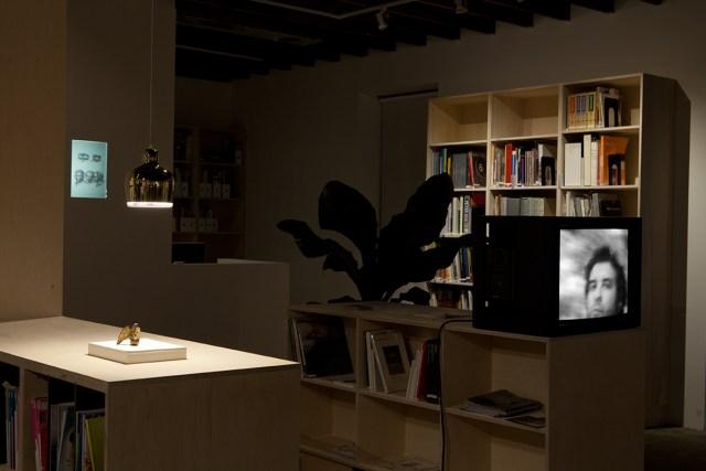 Plaisance, installation view. Left to right: Alejandro Cesarco, Willem de Rooij, Jonathas de Andrade.