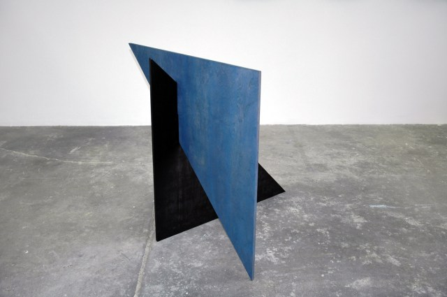 Observatory Crest, 2004. Resin lacquer, stain, wax, plywood. 43 ¼ x 43 ¼ x 43 ¼ inches.
