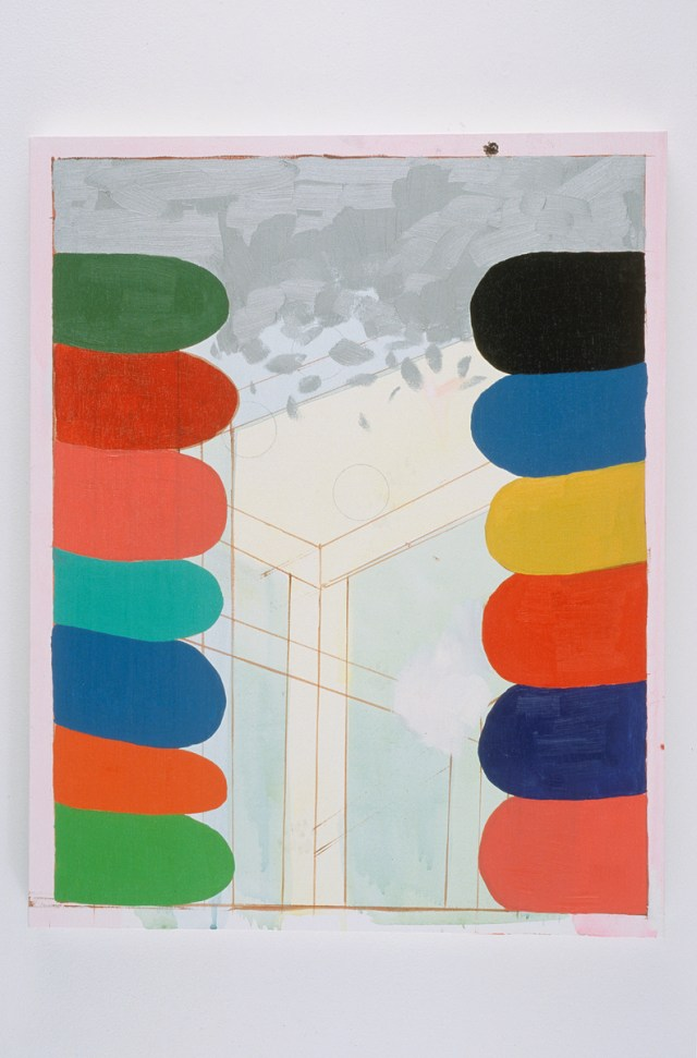 Richard Hawkins, Understructure of a Plane: Peter Saul Colors, 2003. Oil and acrylic on canvas.