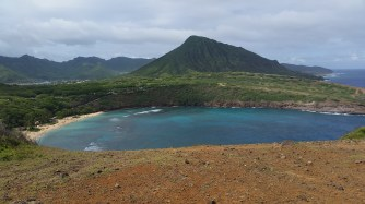 View of Hanauma Bay