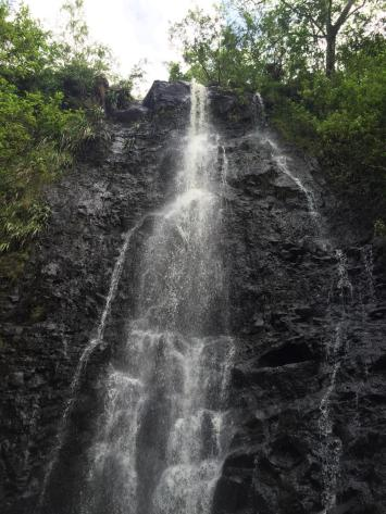 Ka'au Crater Waterfall