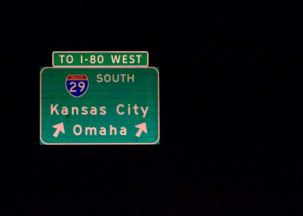 On our way to Omaha, NE