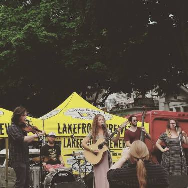 Calamity Janes & the Fratney Street Band at Locust Street Fest