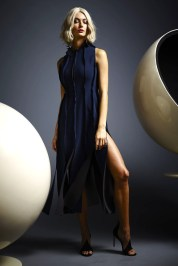 Panel dress by M2057.