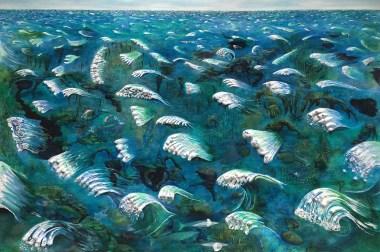 """""""Midwesterner's Dream of The Ocean"""" by Sophia Heymans."""
