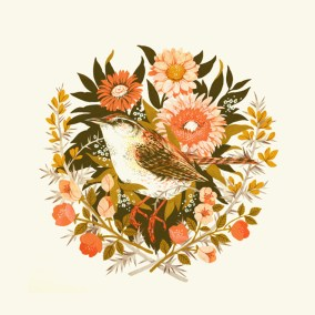 """Wren Day"" by Teagan White."