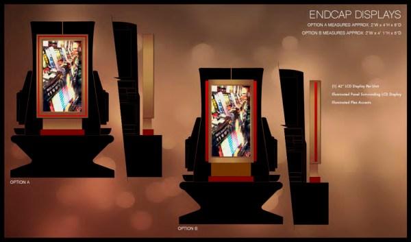 endcap-display
