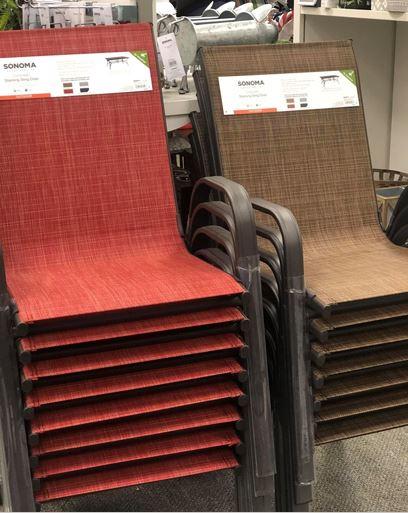 sonoma goods for life coronado stacking patio chair 28 79 reg 69 99