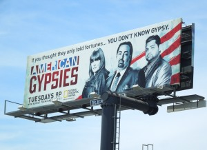 American Gypsies billboard