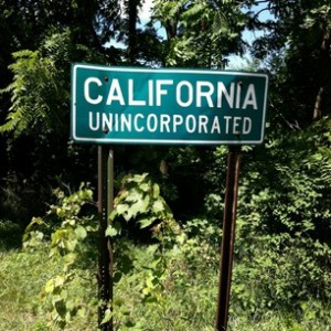 sign for California, Unncorporated