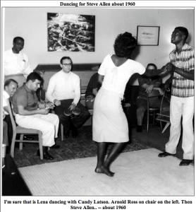 Dancing for Steve Allen about 1960