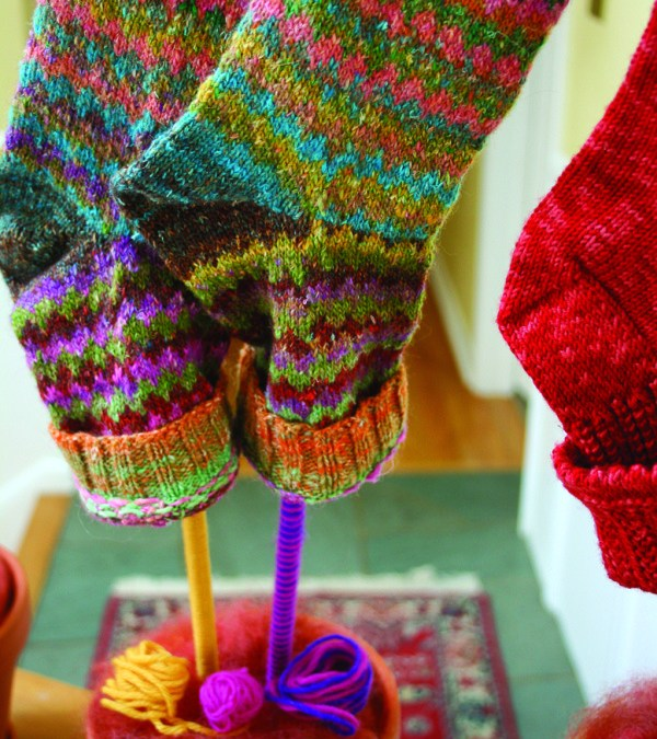 Socks on a Stick–a great Minnesota tradition with a new twist!