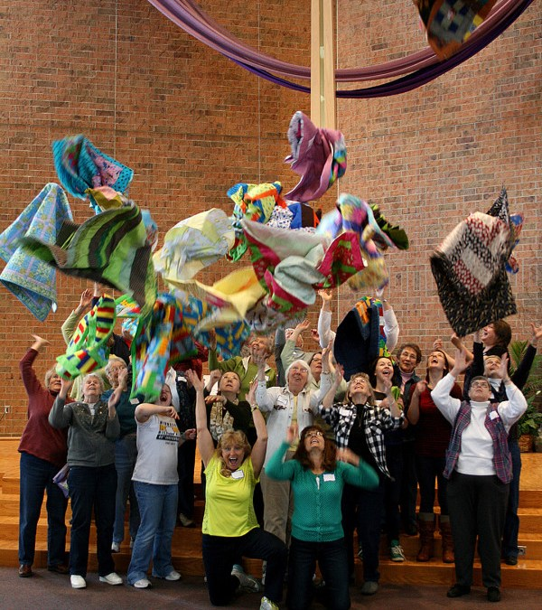 Caring Quilts Day 2013