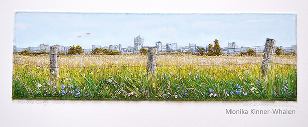 Prairie City, 2014 Monika Kinner-Whalen 1st place, best of category FFAA Embroidery