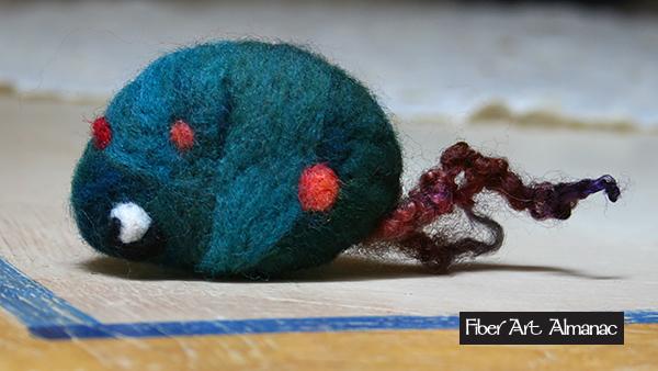 wool needle felted animals