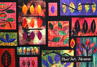 Susan Stein and surface design techniques in art quilts